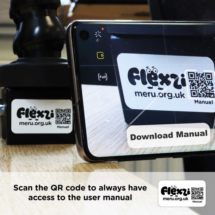 Flexzi QR code manual