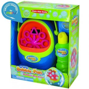 Switch Adapted Toy Bubble Machine