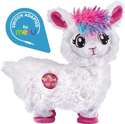 Switch Adapted Toy Boppi the Llama