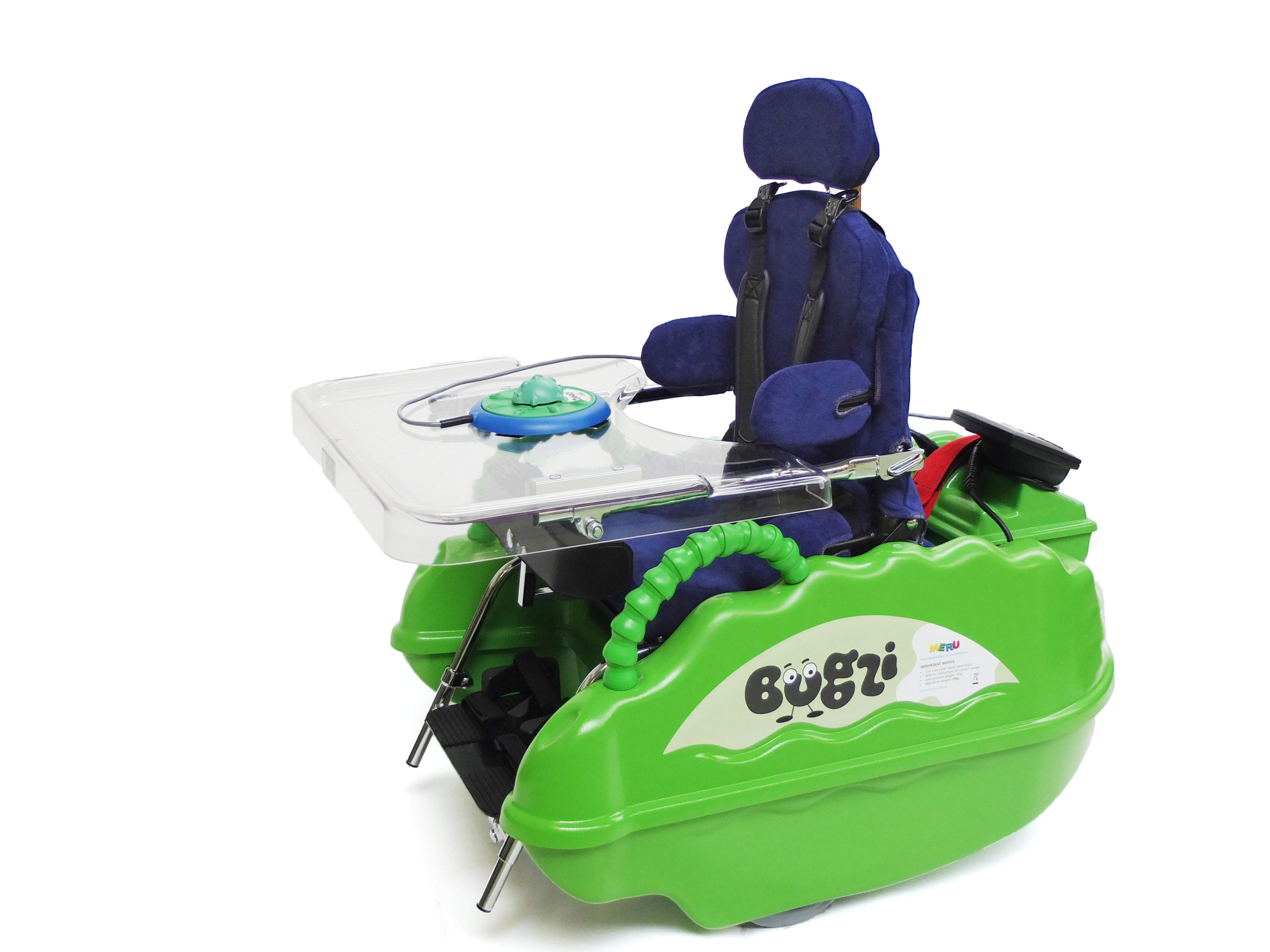 Bugzi powered wheechair
