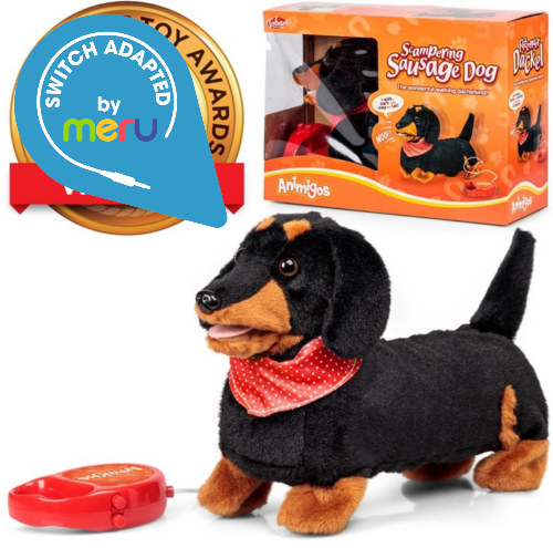 Switch Adapted Toy Sausage Dog
