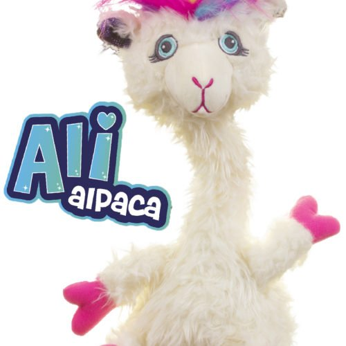 Switch Adapted Toy Alpaca-