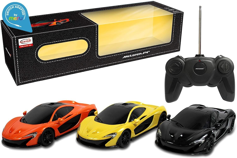 Switch adapted 1:24 R/C McLaren P1