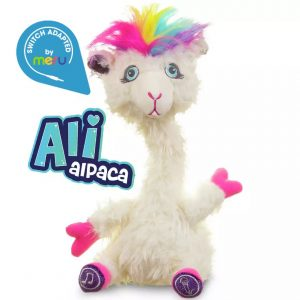 Switch Adapted Toy Alpaca