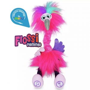 Switch Adapted Toy Flamingo