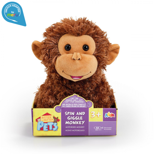 Switch Adapted Toy monkey