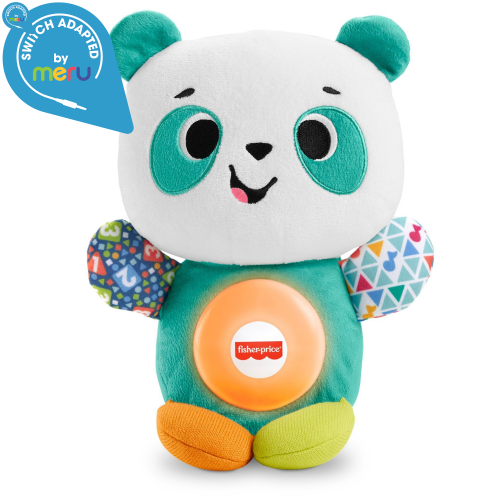 Switch adapted Fisher-Price Linkimals Play Together Panda