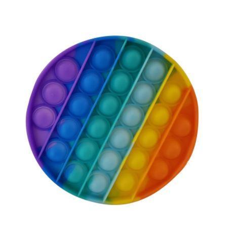 Rainbow Push Poppers