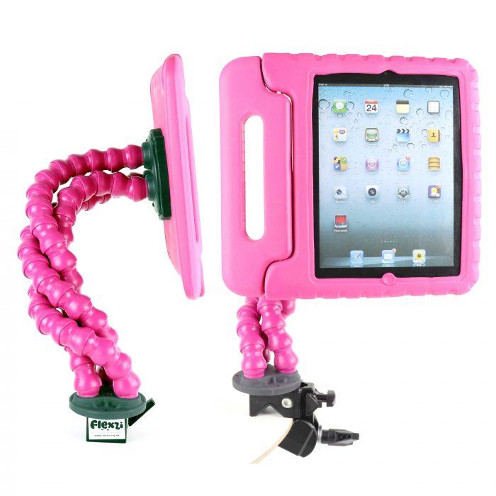 Pink Flexzi 3 with ipad case multi view